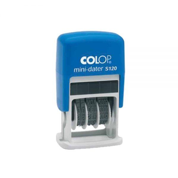 Minidatiera Colop, S120