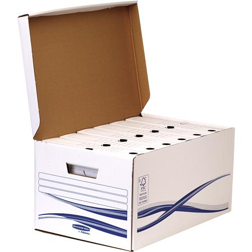 Container arhivare cu capac Fellowes Bankers Box