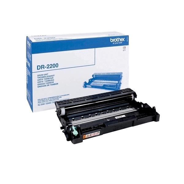 Toner original Brother DR2200, 12000 pagini, cilindru