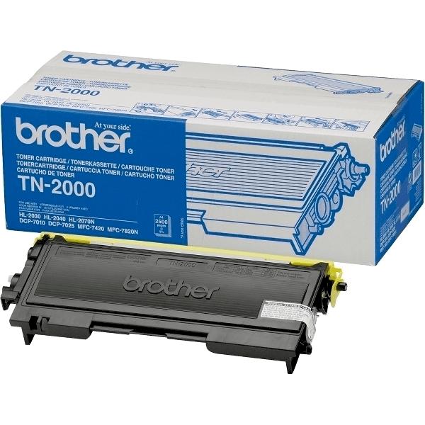 Toner original Brother TN2000, 2500 pagini, negru