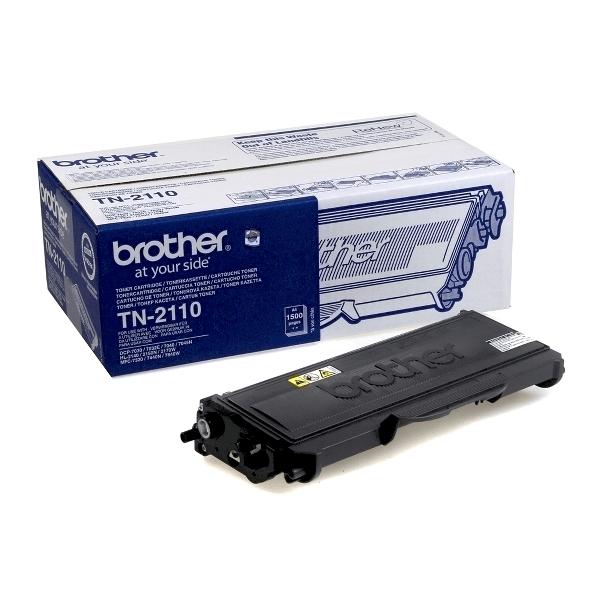 Toner original Brother TN2110, 1500 pagini, negru