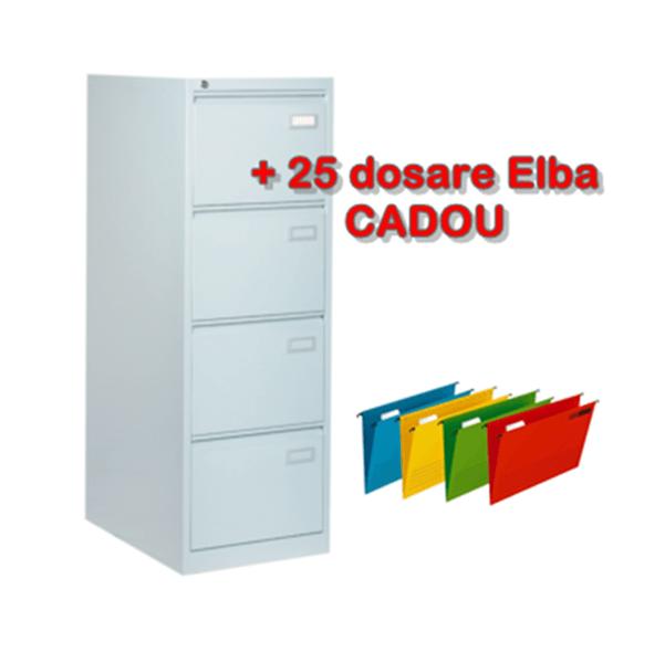 Clasificator metalic cu 4 sertare, 46.3x62x132.8 cm CEHA