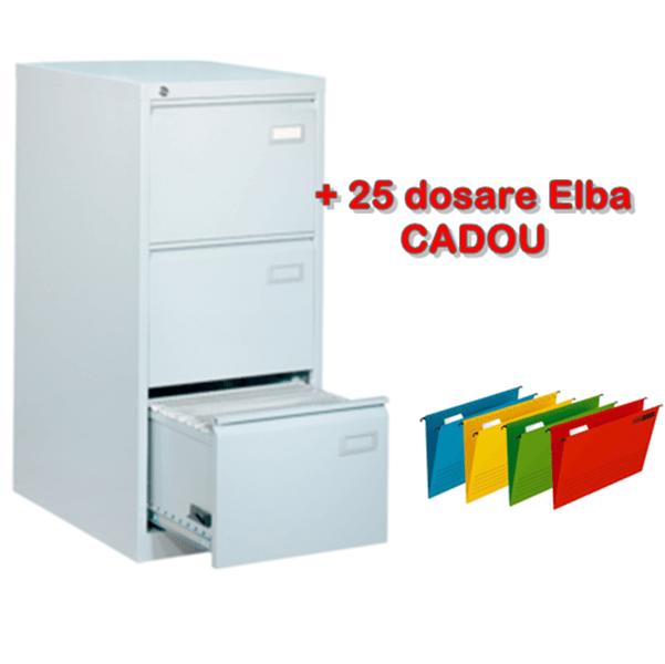 Clasificator metalic cu 3 sertare, 46.3x62x102.2 cm CEHA