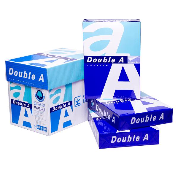 Hartie copiator Double A, A4, 80 g/mp, 500 coli/top