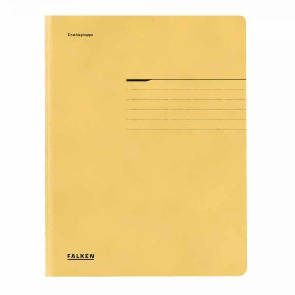 Dosar plic color Falken Lux, carton, 320 g/mp