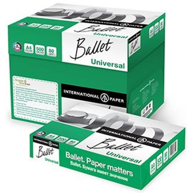 Hartie copiator A4 Ballet 80 g/mp, 500 coli/top