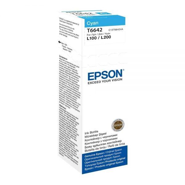 Cartus original Epson cyan T66424A pt. L355