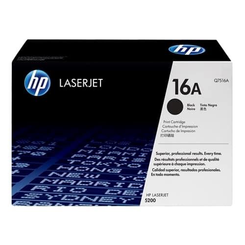 Toner original HP Q7516A pt LJ 5200, 12000 pag