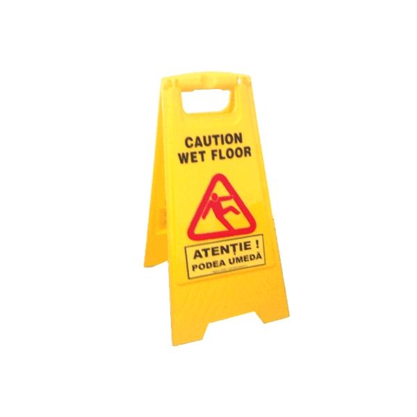 "Indicator avertizare ""Atentie Podea Umeda"""