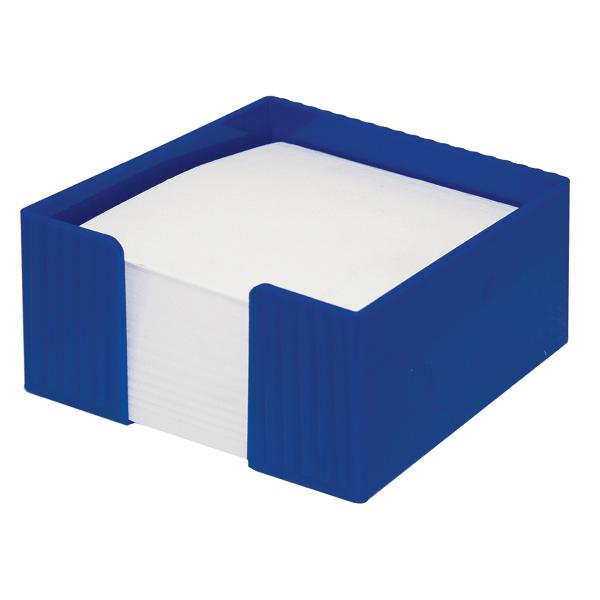 Suport cub hartie Flaro Star, plastic, 90 x 90 mm, albastru