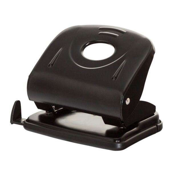 Perforator metalic, 30 coli, Office Products - negru