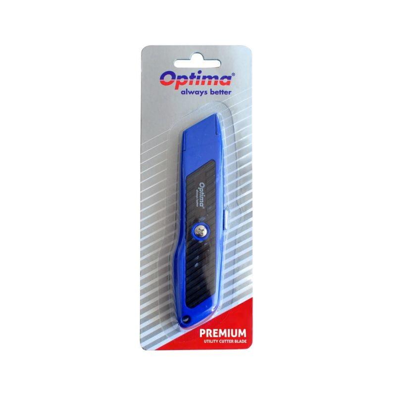 Cutter premium lama trapezoidala SK5, auto-retractabil, Optima