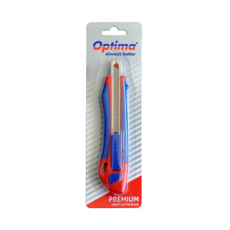 Cutter mic premium Optima, + 2 rezerve SK5, autoincarcare, rubber grip