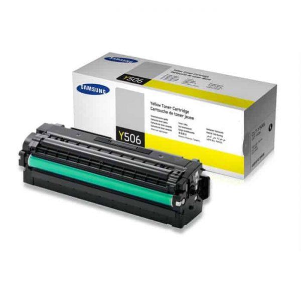 Toner original Samsung galben CLT-Y506L/SU515A pt CLP-680ND