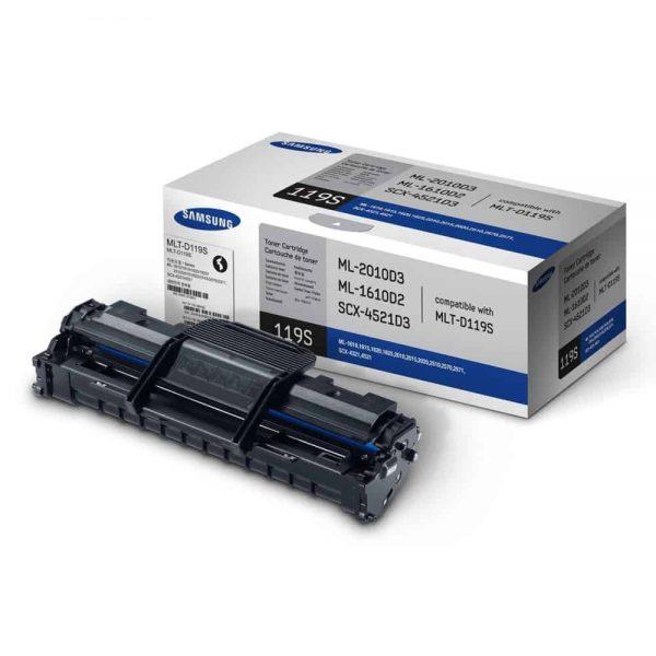 Toner original Samsung MLT-D119S pt. ML-1610/2010, SCX-4521, ML-2510/2570/2571N, SCX-4321, negru
