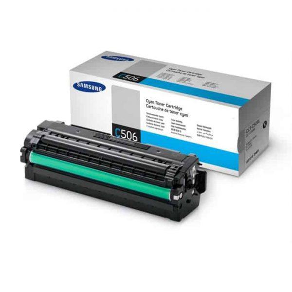 Toner original Samsung cyan CLT-C506L/SU038A pt CLP-680ND
