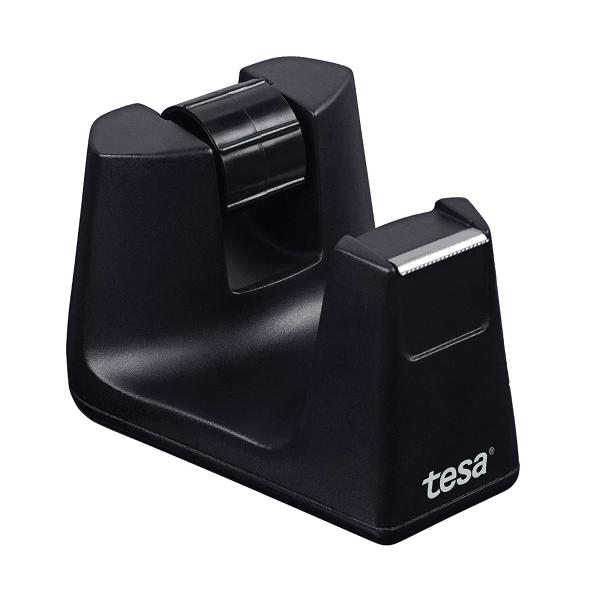 Dispenser banda adeziva, Tesa, Easycut Smart, negru