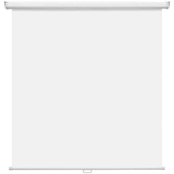 Ecran proiectie manual de perete Memoboards 180 cm x 180 cm