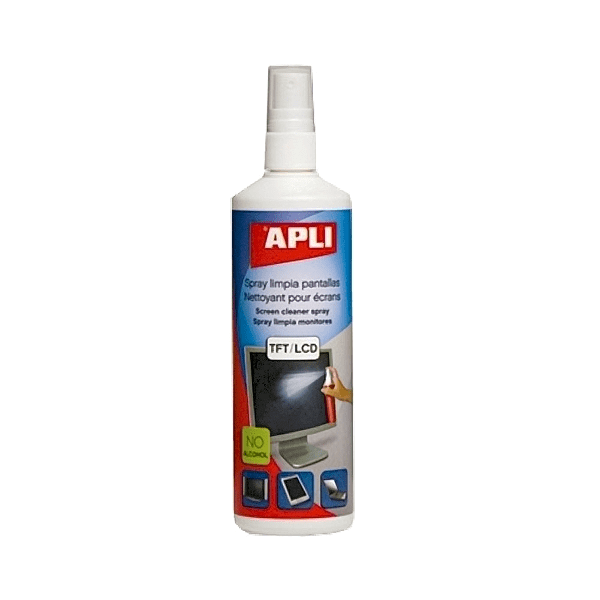 Spray curatare ecran Apli, 250 ml