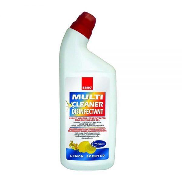 Gel dezinfectant Sano Multicleaner, 750ml