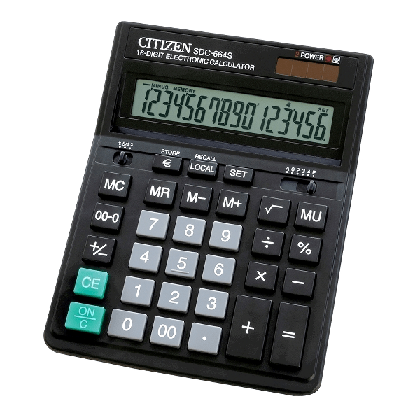 Calculator Citizen SDC664S, 16 digiti