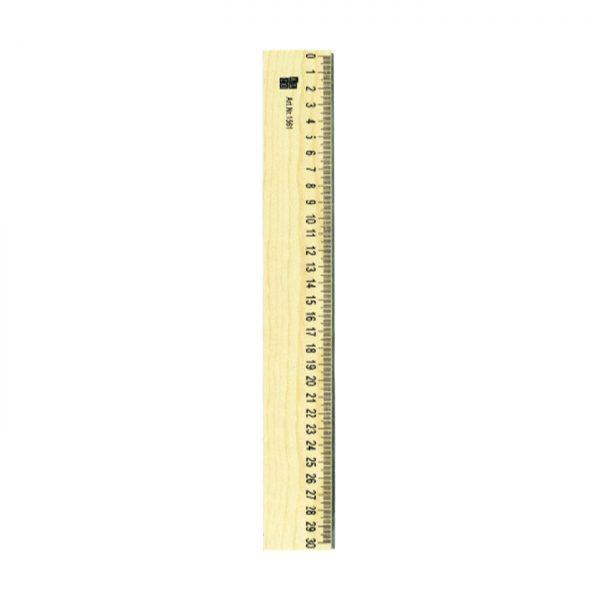 Rigla din lemn 30cm ALCO