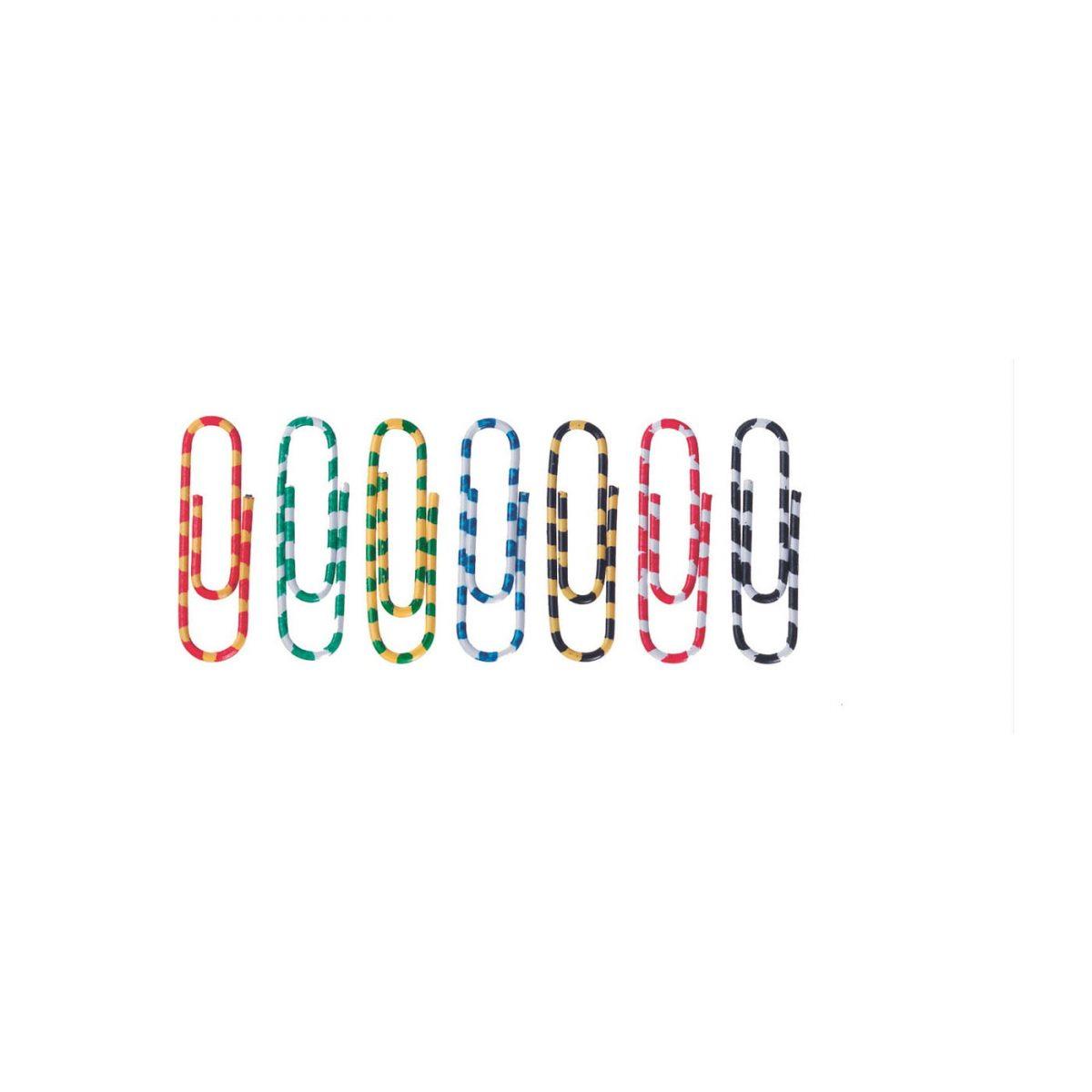 Agrafe colorate 28 mm, 100/cutie, ALCO Zebra