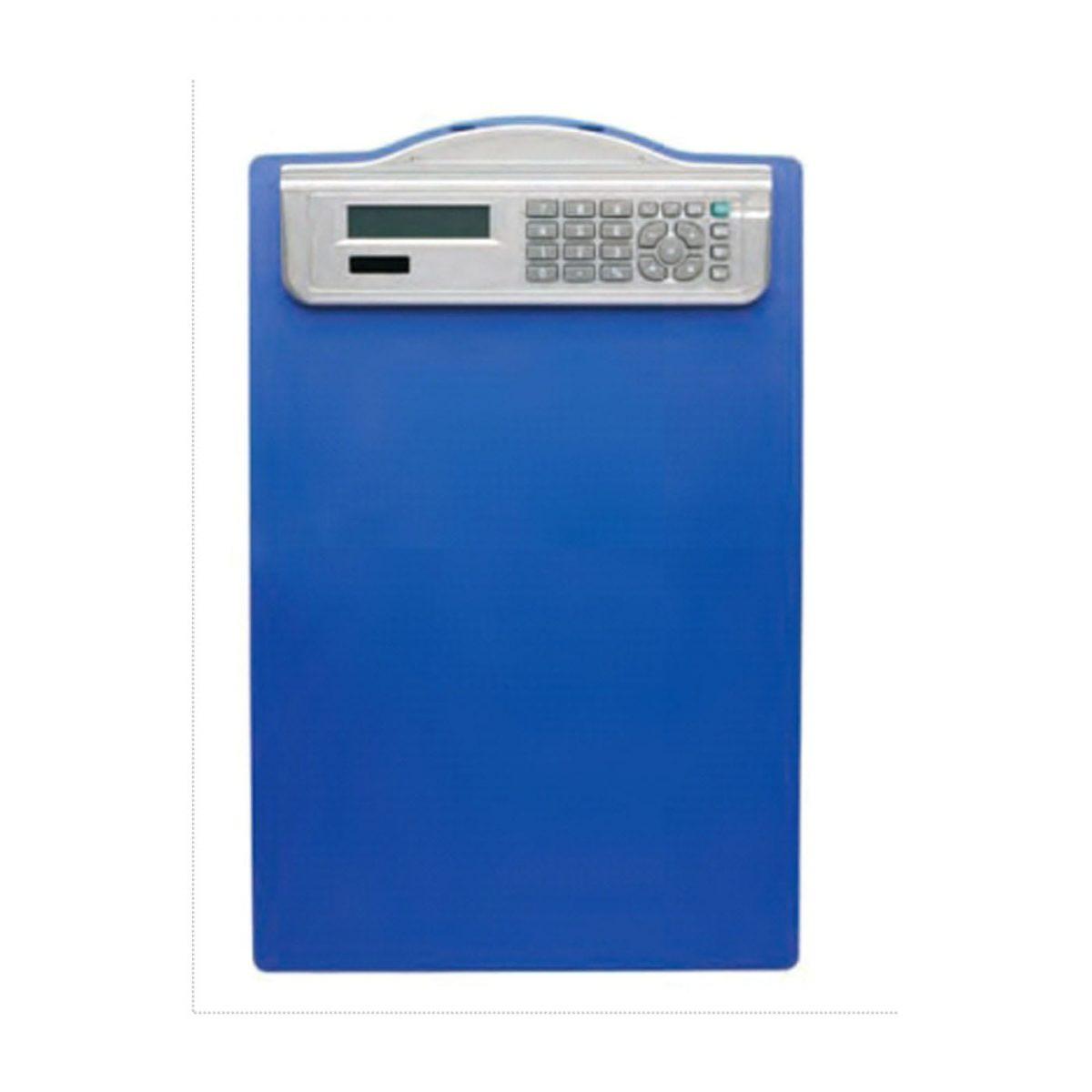 Clipboard simplu A4, din plastic rigid, cu calculator, ALCO
