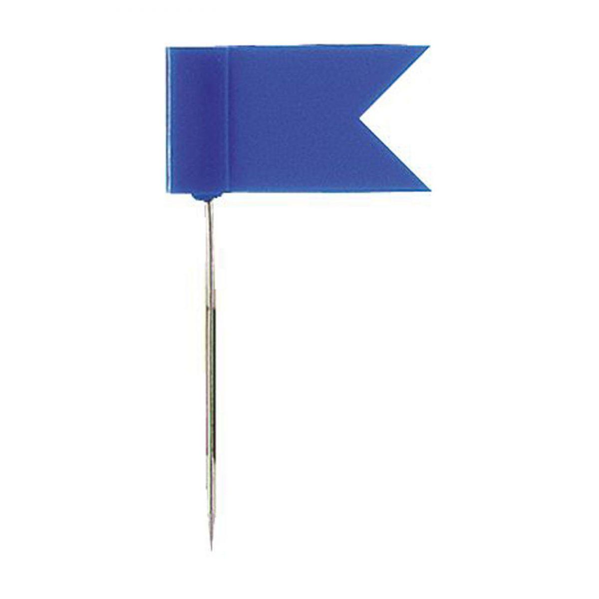 Stegulete colorate, 20/cutie, ALCO - albastru
