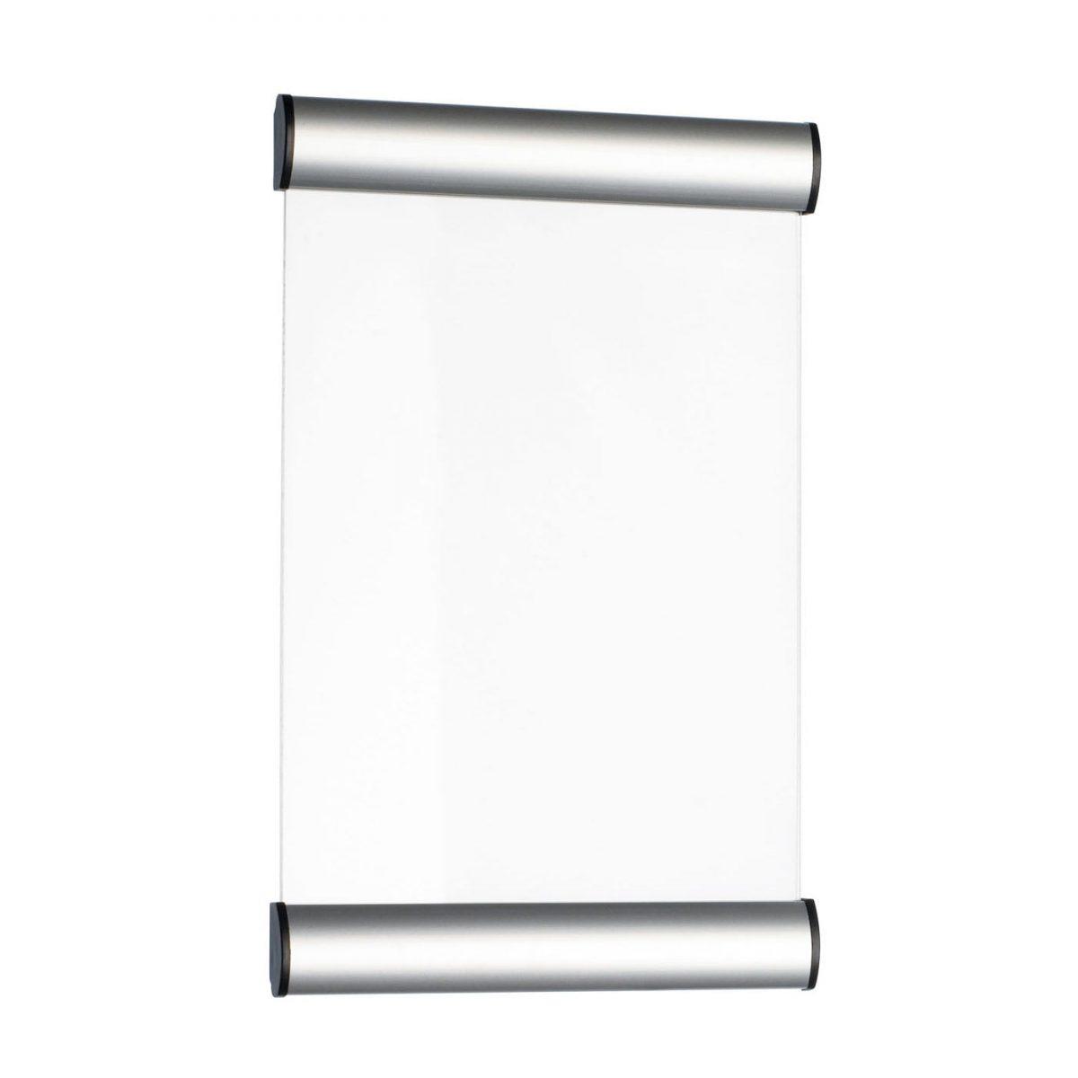 Display metalic pentru nume, pentru semnalizare usa, 24 x 15 cm, ALCO
