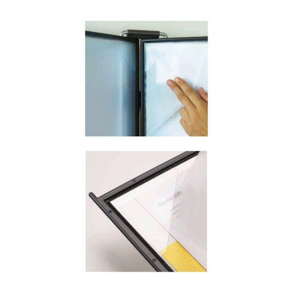 Buzunar de prezentare pentru display, A4, (10 buc/set) PROBECO QuickLoad