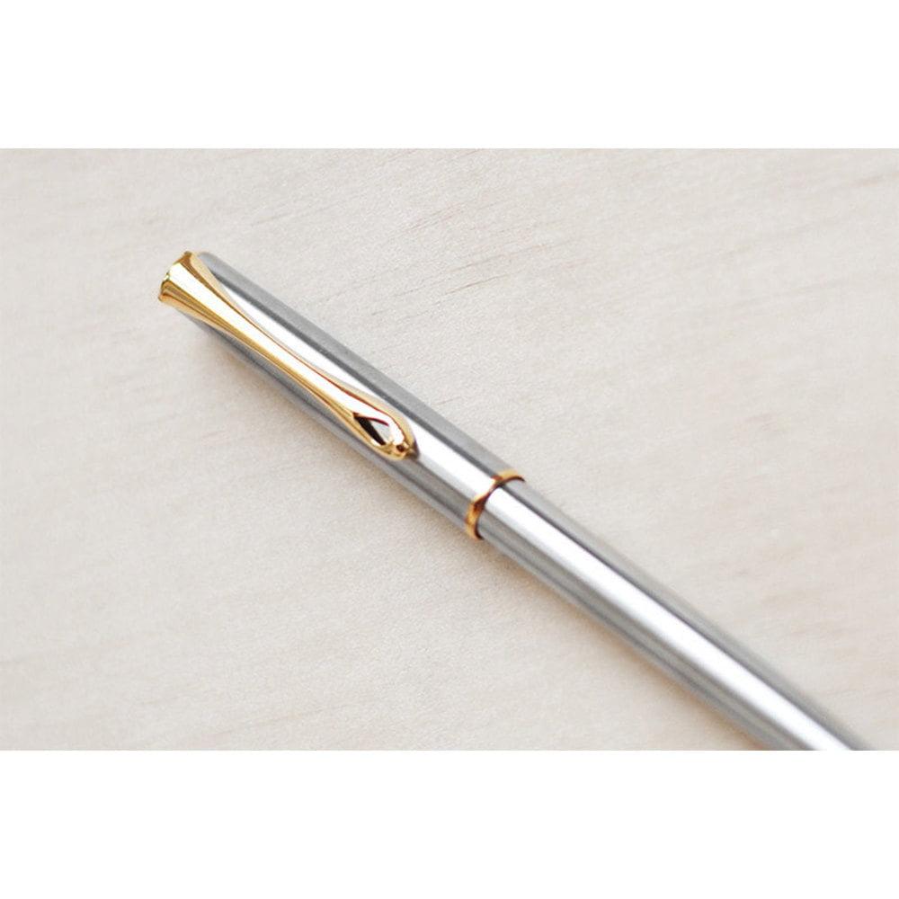 DIPLOMAT Traveller - Stainless Steel Gold - pix easyFLOW