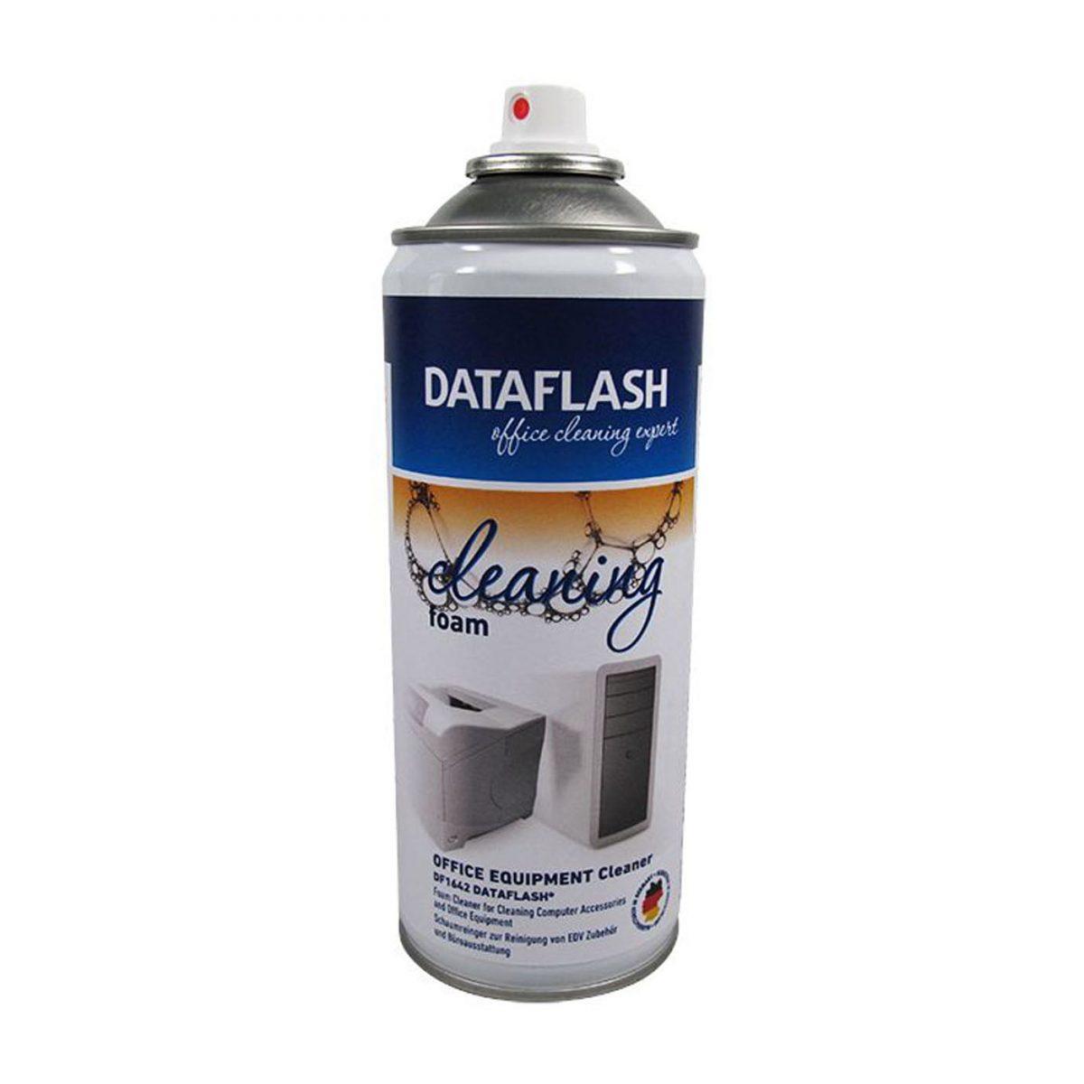 Spuma curatare suprafete din plastic, metal, sticla, 400ml, DATA FLASH