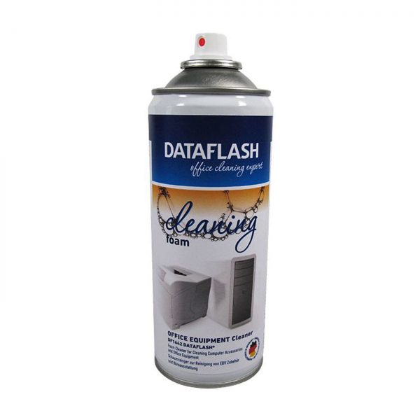 Spuma curatare suprafete din plastic, metal, sticla, 400ml, DATA FLASH
