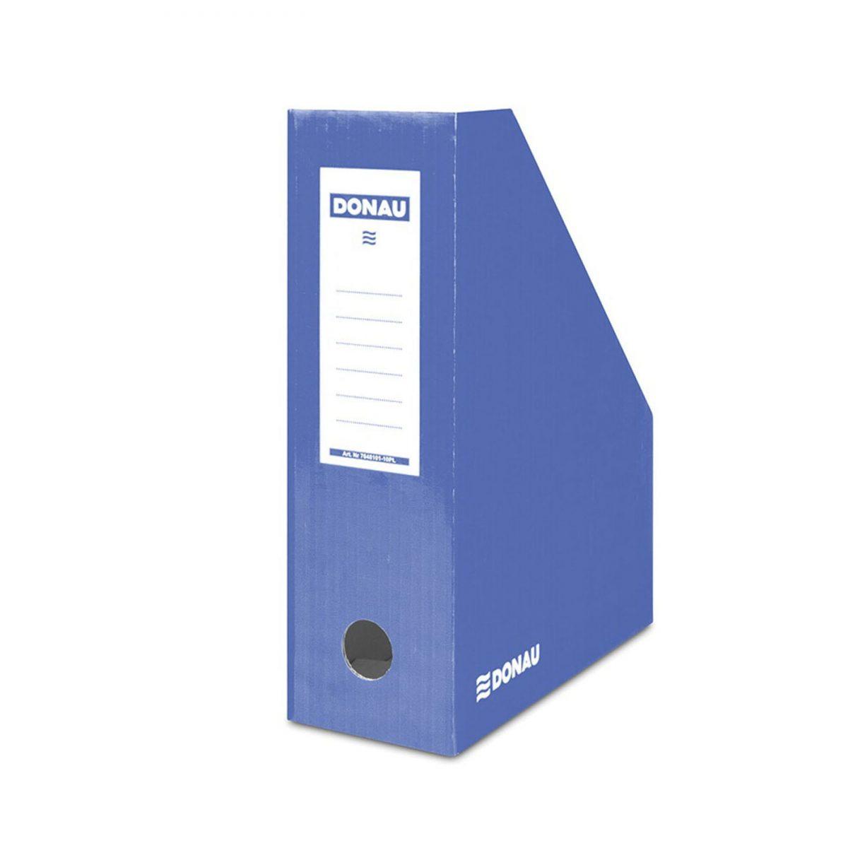 Suport vertical carton pentru cataloage Donau