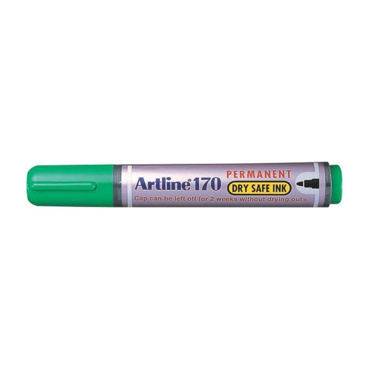 Permanent marker ARTLINE 170 - Dry safe ink, vf. rotund 2.0mm