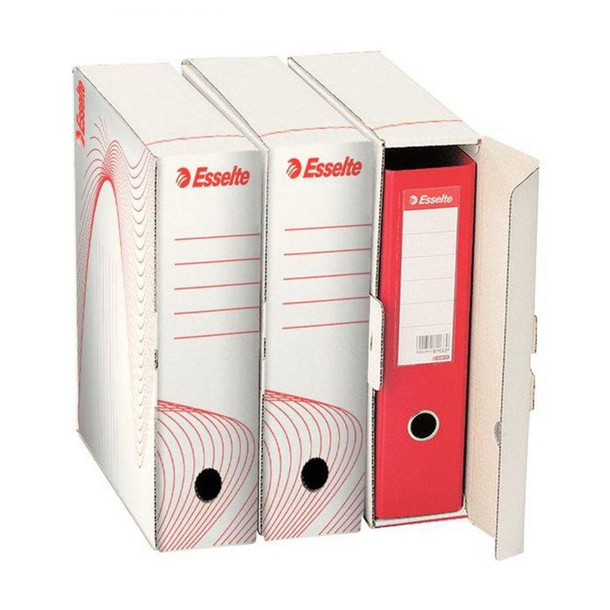 Container arhivare pentru bibliorafturi Esselte Standard