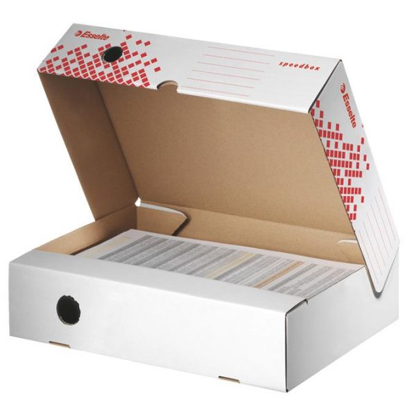 Cutie de arhivare ESSELTE Speedbox 80 mm, orizontala