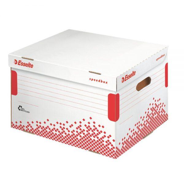 Container arhivare pentru bibliorafturi ESSELTE Speedbox