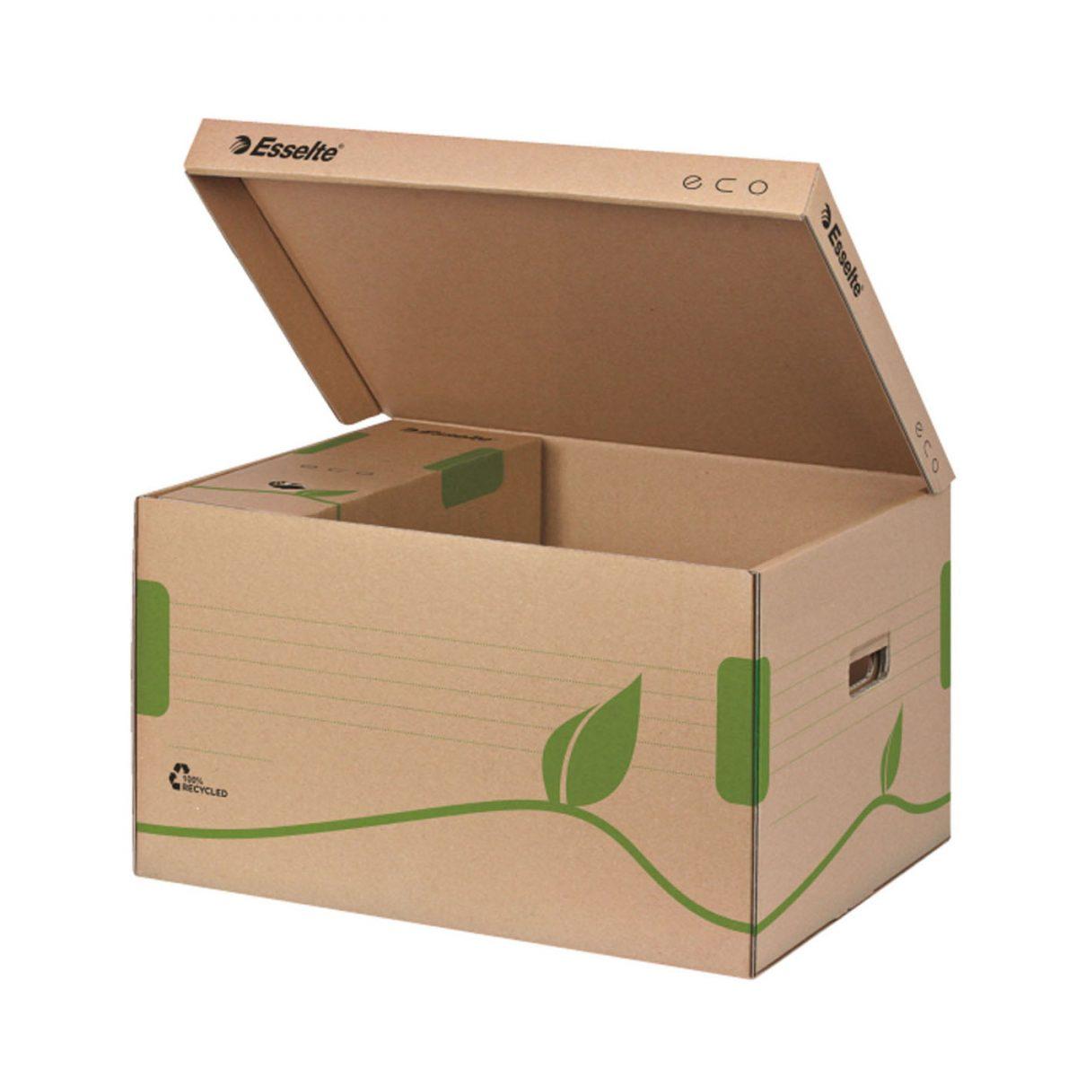 Container arhivare cu capac ESSELTE Eco