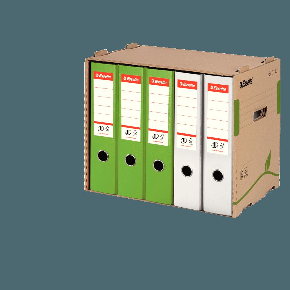 Container arhivare pentru bibliorafturi ESSELTE Eco