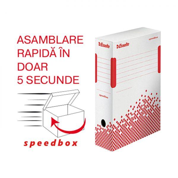 Cutie de arhivare ESSELTE Speedbox 100 mm