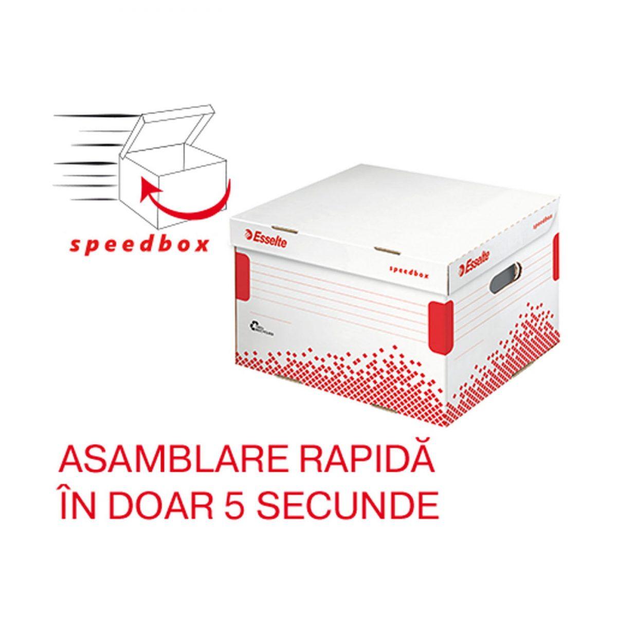 Container arhivare cutii ESSELTE Speedbox L
