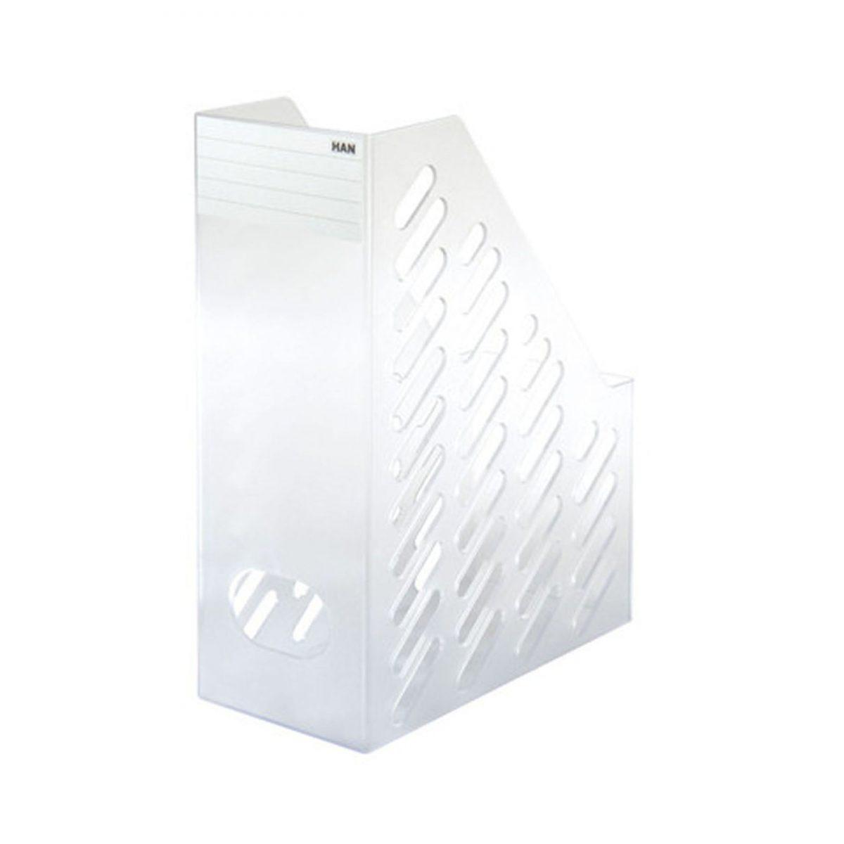 Suport vertical transparent pentru cataloage HAN Klassik XXL