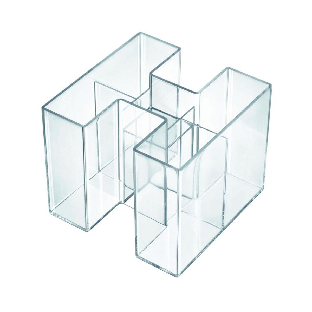 Suport pentru instrumente de scris, HAN Bravo - transparent cristal