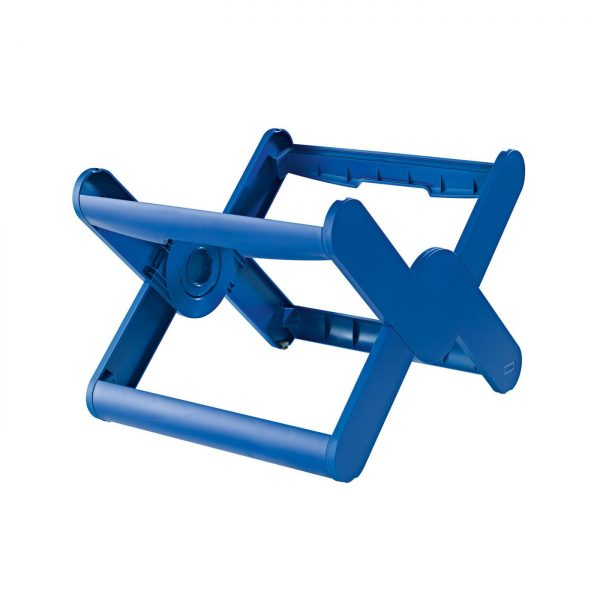 Suport plastic pentru 35 dosare suspendabile, HAN X-Cross - albastru