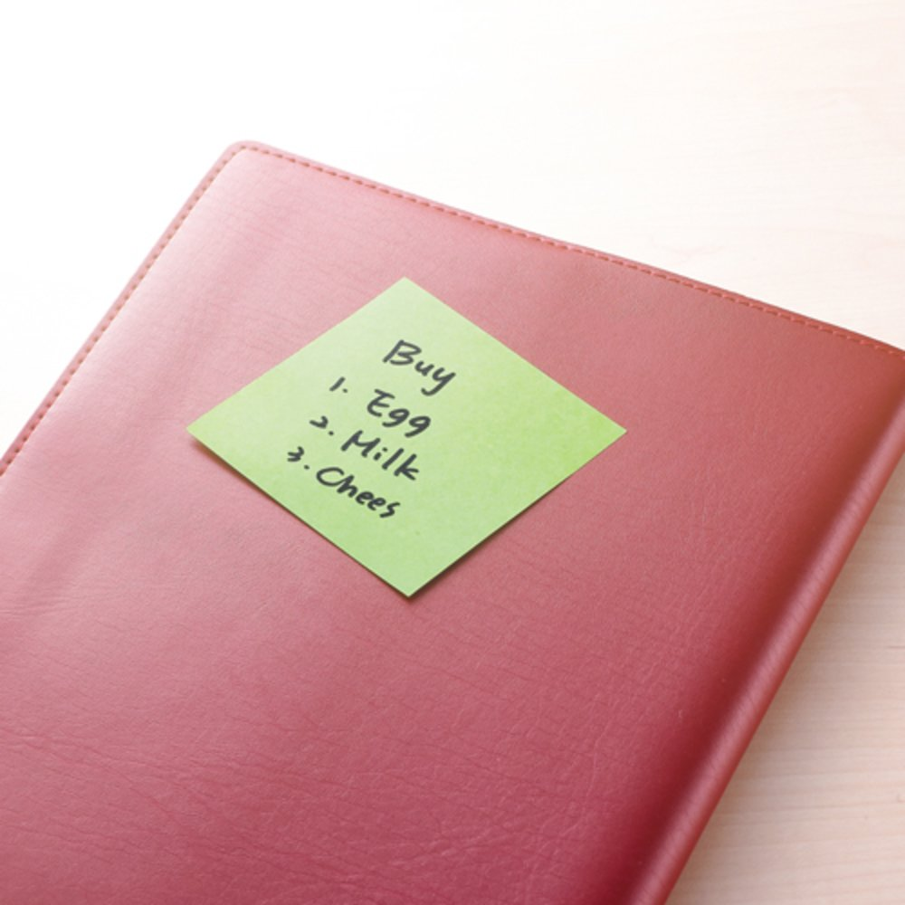 "Notes autoadeziv extra-sticky 76 x 76mm, 90 file, Stick""n - culori neon"