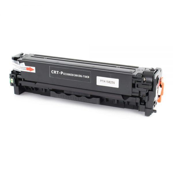 Toner compatibil CERTO NEW BLACK CC530A/CRG-718BK 3,5K HP LASERJET CP2025