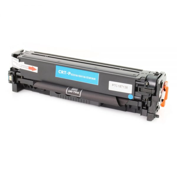 Toner compatibil CERTO NEW CYAN CC531A/CE411A/CF381A 2,8K HP LASERJET CP2025