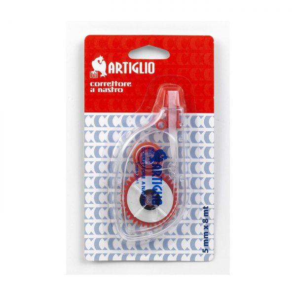 Dispenser cu banda corectoare 5mm x 8m, ARTIGLIO